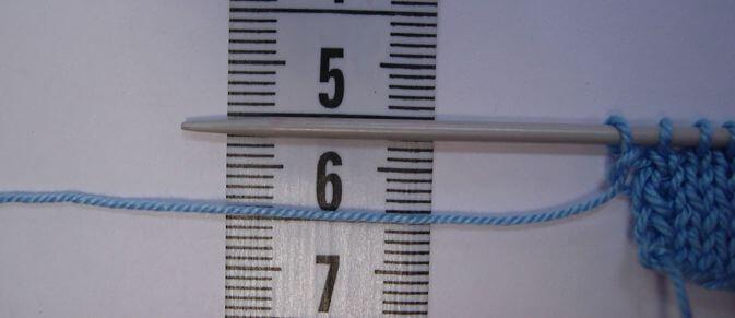 Как определить номер спиц для вязания